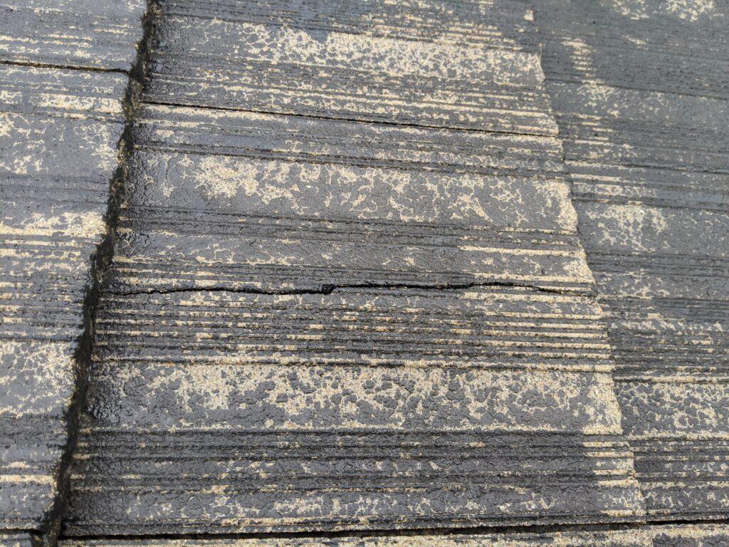 屋根(モニエル瓦)塗装工事