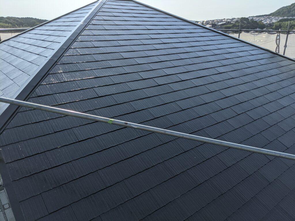 屋根塗装工事【完了】